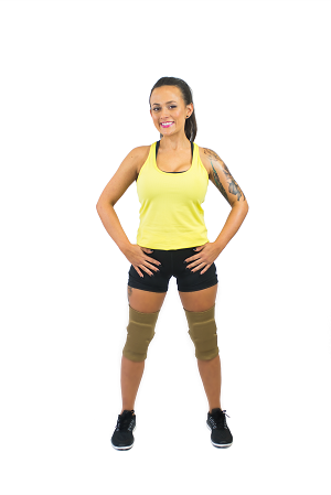 NON Tack kneepads-  Long THICK
