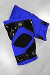 OG Tack Kneepads Long Style - Dark Blue with Black Tack