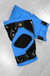 OG Tack Kneepads Long Style - Light Blue with Black Tack
