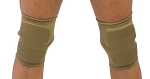 NON Tack Short Thin - Tan Color Knee Protectors
